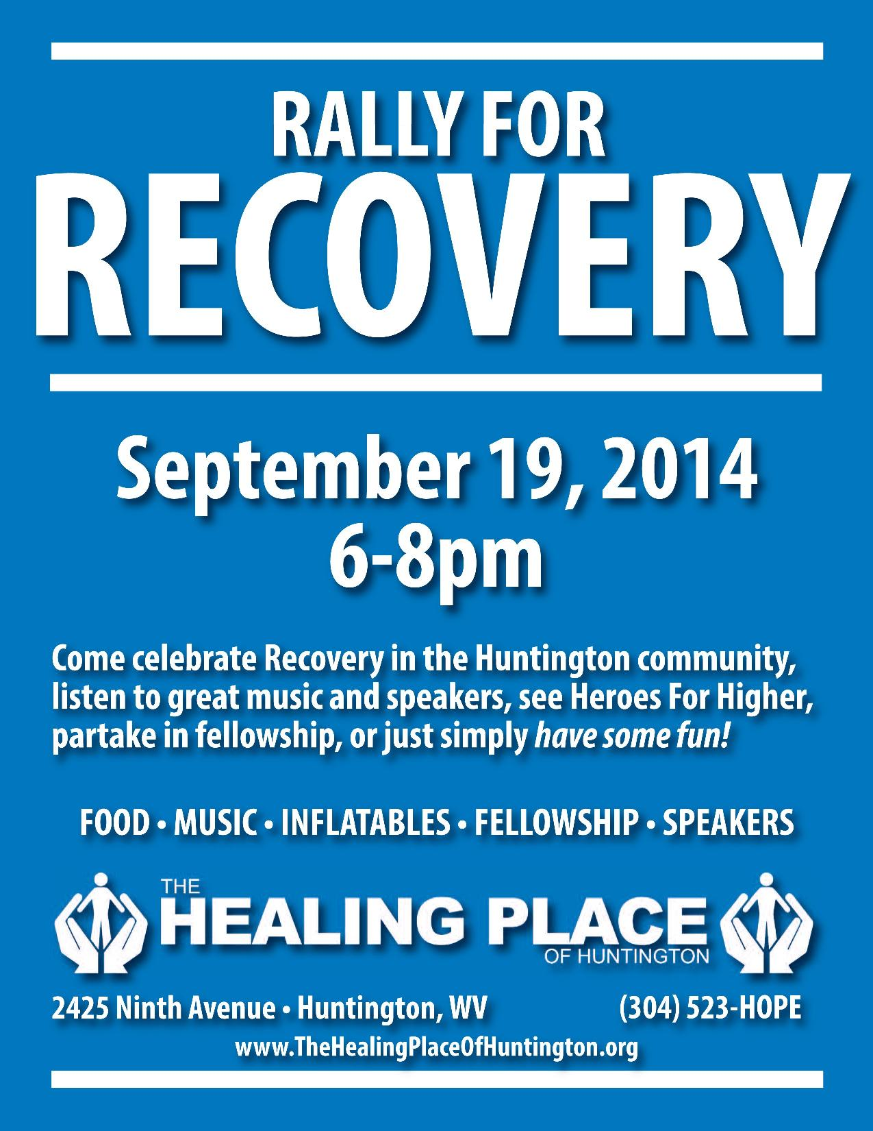 Rally for Recovery Sept 19
