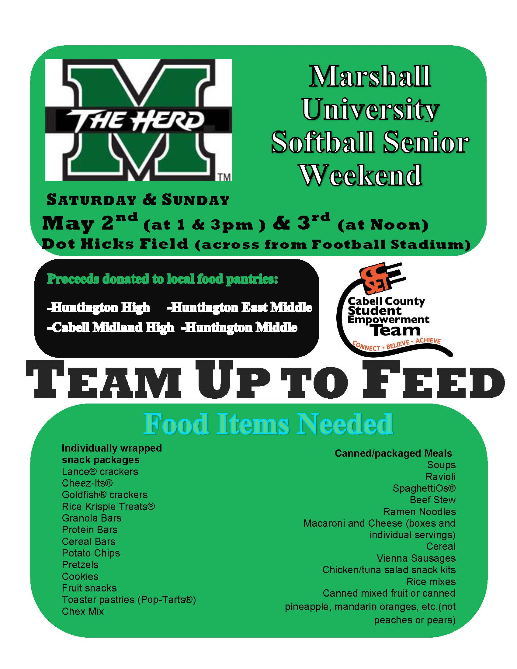 Team Up to Feed Flyer 5-2, 3-15 JPG