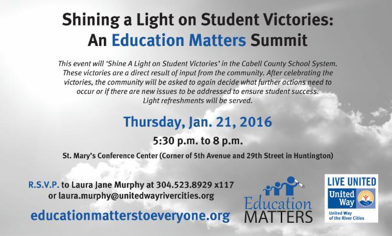 Ed Matters Summit 1-21-16