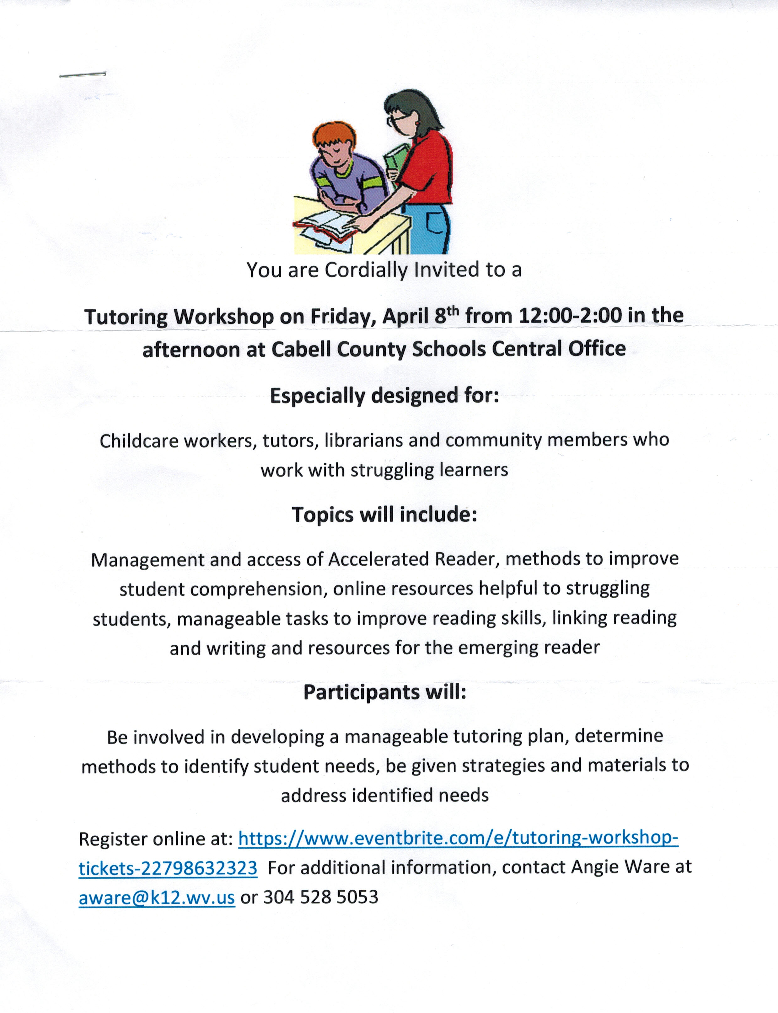Cabell County Tutoring Workshop 4-8-16 JPEG