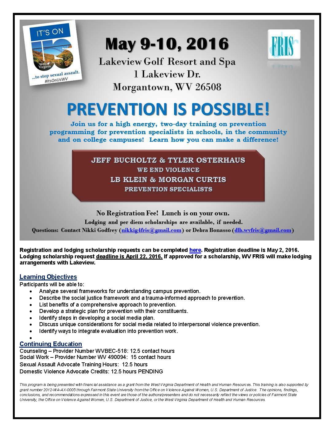 Prevention Is Possible Registration Info jpeg_Page_1