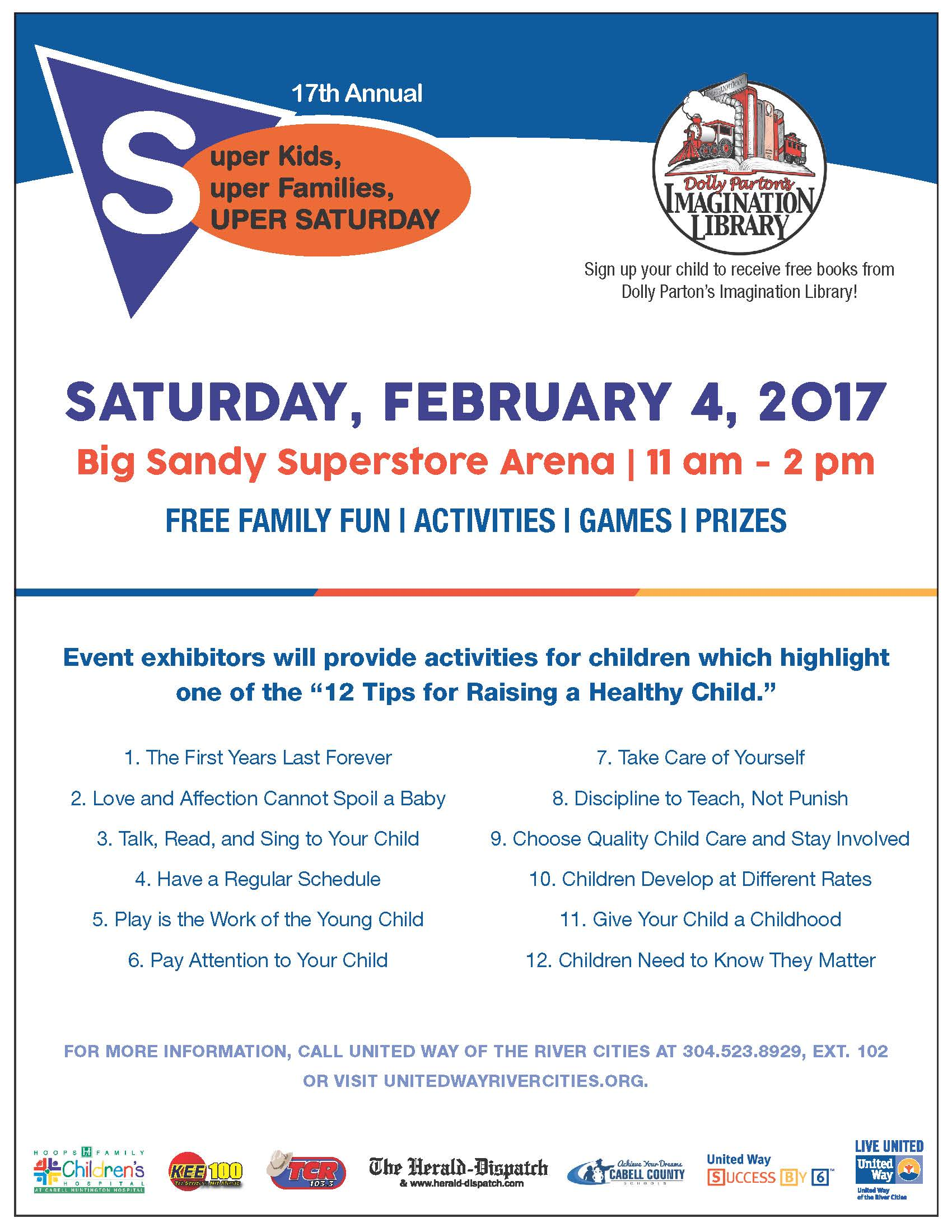 Super Kids, Super Families, Super Saturday Feb 4 – Cabell. Cabell County  seeks state funds for new elementary school