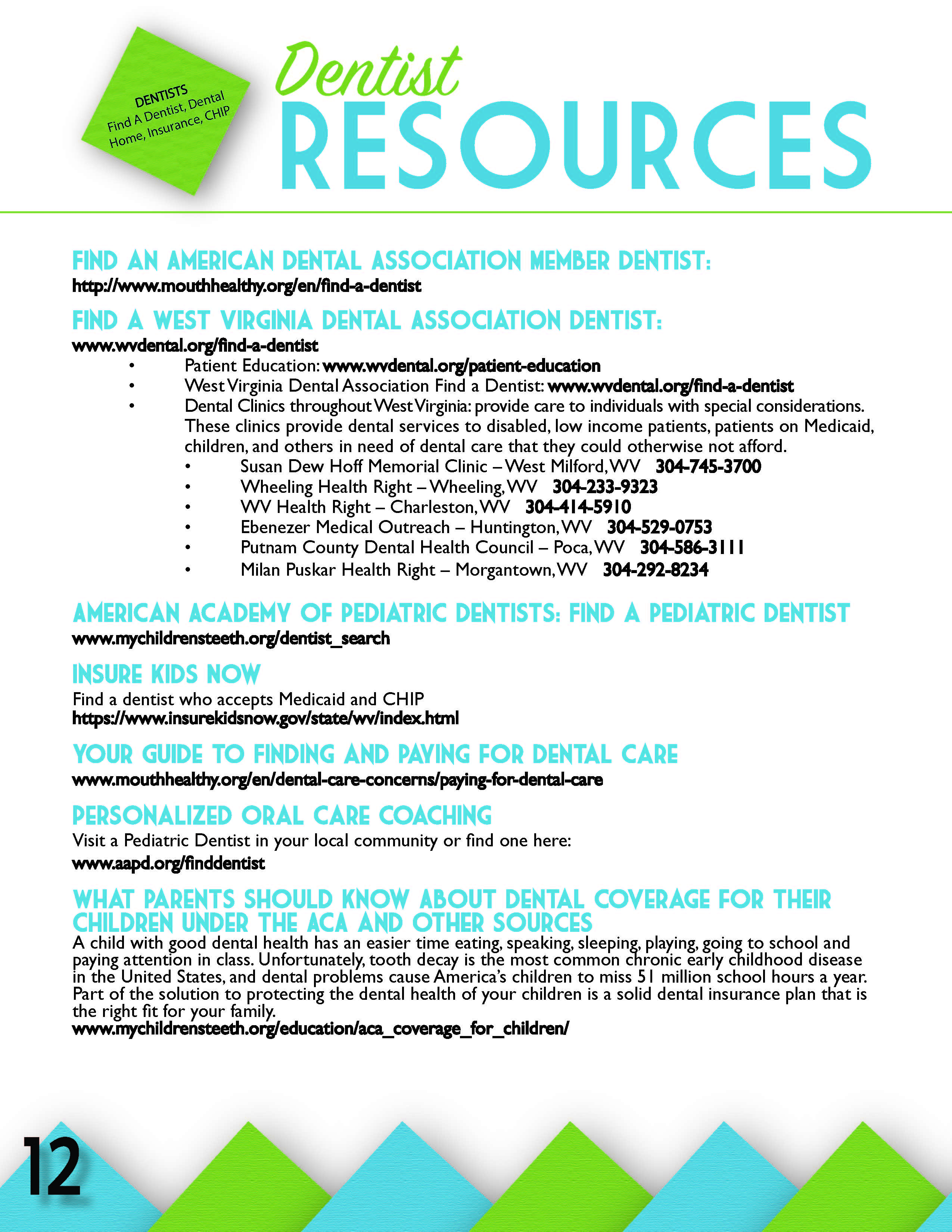 Find A Dentist Cabell County Family Resource Network