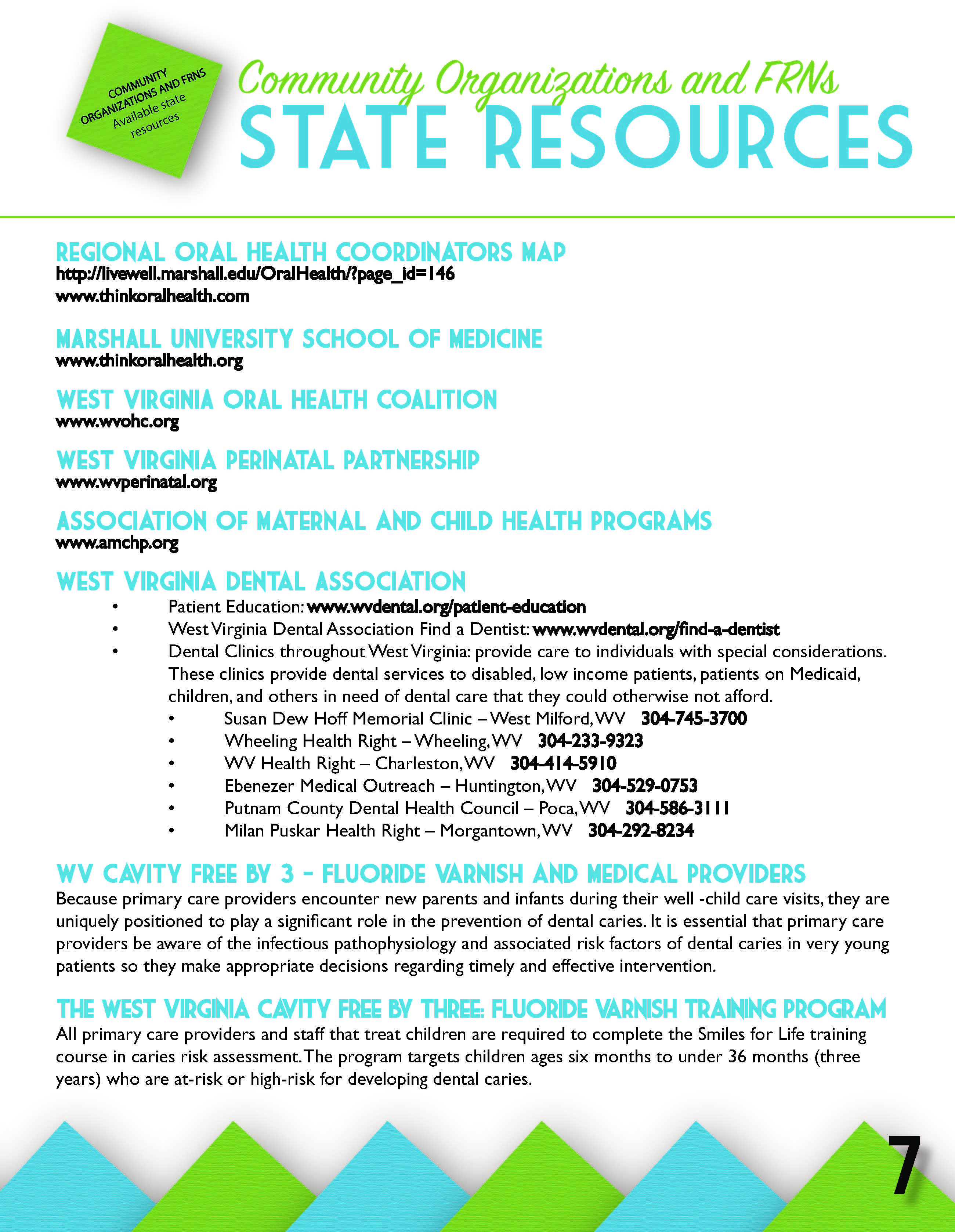 State Resources Wv Family Resource Networks Cabell
