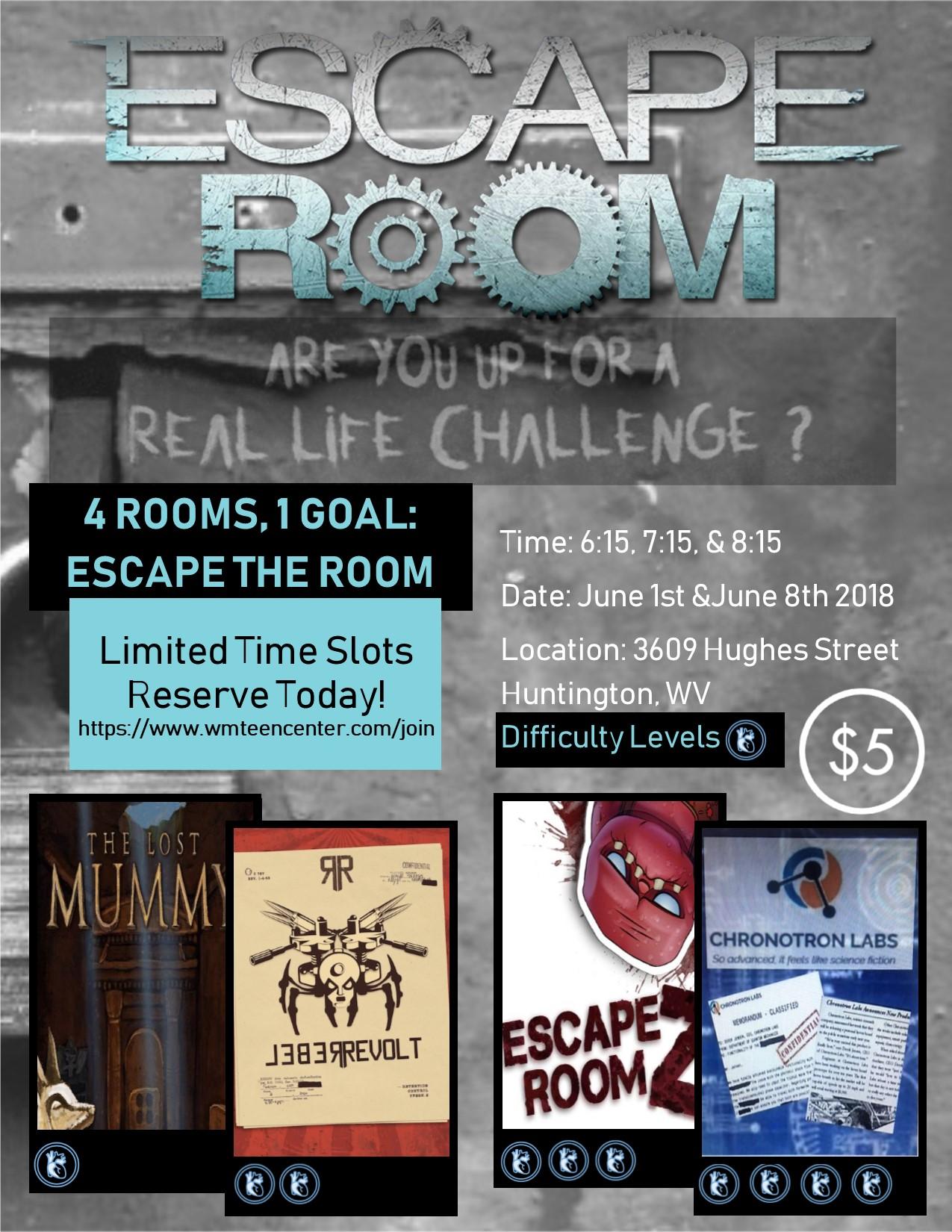 Escape Room Westmoreland Mall